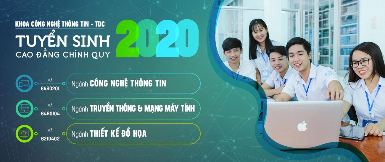 Tuyển sinh công nghệ thông tin 2020